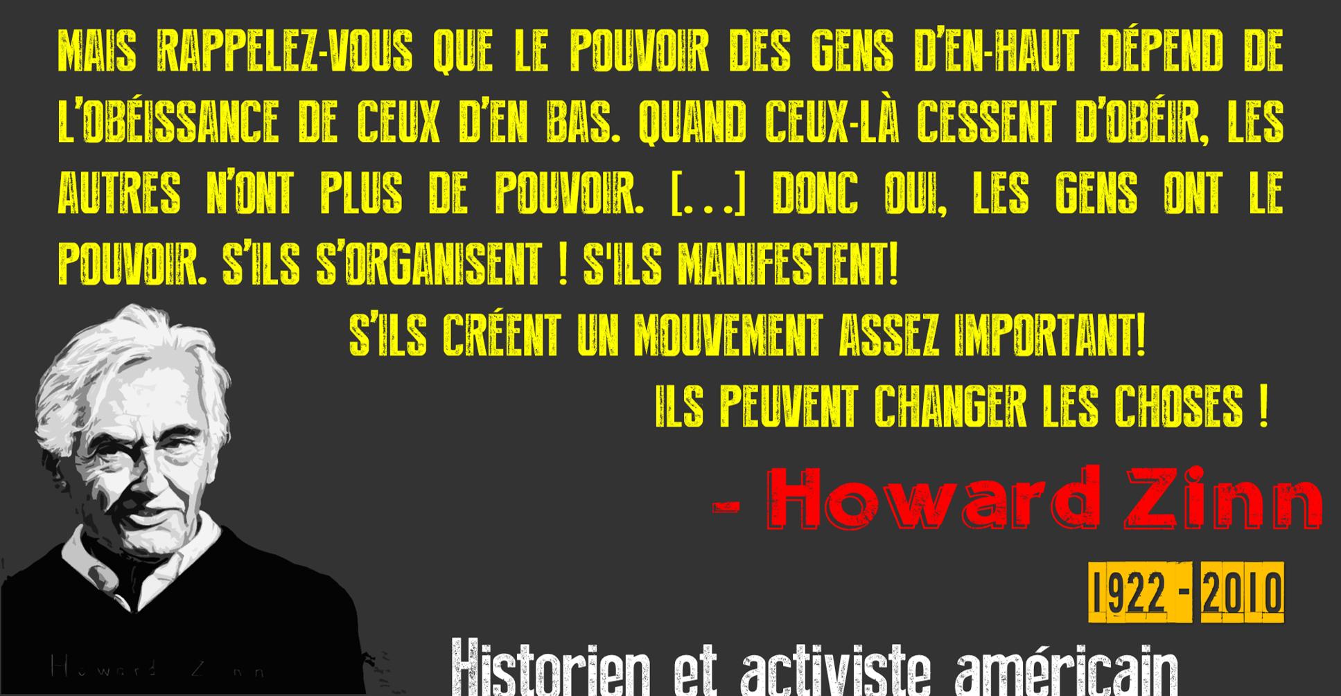 5 ans après : Longue vie à Howard Zinn!
